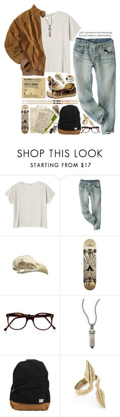 """""""Sin título . 57"""" by christinethedaae ❤ liked on Polyvore featuring Monki, Converse, Firth, Airwalk, Cutler and Gross, David Yurman, Volcom, Avant Garde Paris, AllSaints and roadtrip"""