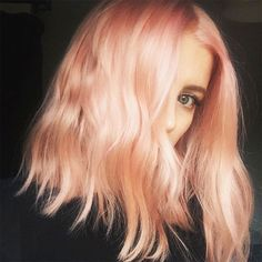 """Meet sunset blond—also known as """"blorange""""—which promises to be this year's coolest hair color trend."""