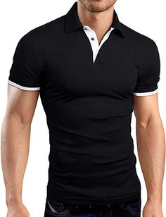 men's T-shirts – High Fashion For Men Long Sleeve Polo, Short Sleeve Polo Shirts, Shirt Sleeves, Mens Long Shorts, Men Shorts, Slim Fit, Casual Shirts, Men Casual, Tommy Hilfiger