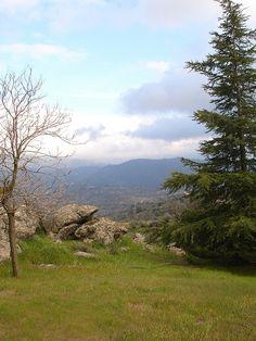 Tehachapi, CA. Our home before Iowa! Really miss those beautiful mountains and views :(