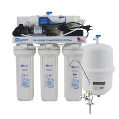Under-Sink Reverse Osmosis Drinking Water Filtration System with Alkaline Remineralization Filter ph value of - Alkaline Water Filter, Drinking Water Filter, Reverse Osmosis Water Filter, Reverse Osmosis System, Ion Exchange Resin, Ionised Water, Inline Water Filter, Water Storage Tanks, Water Filtration System
