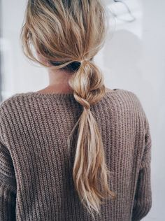 Hair Inspiration: Half + Half Braided Ponytail (Le Fashion) simple + beautiful Admin See author's posts Related My Hairstyle, Messy Hairstyles, Pretty Hairstyles, Summer Hairstyles, Hairstyle Ideas, Office Hairstyles, Amazing Hairstyles, Hairstyle Tutorials, Casual Hairstyles