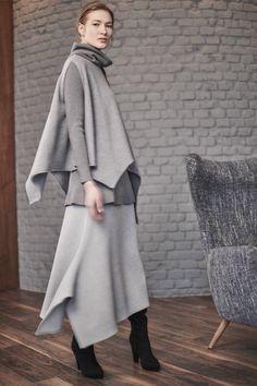 Купить Жилет Клёш асимметрия, Углы от Lesel (Лесель) российский дизайнер одежды
