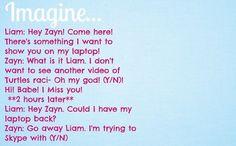 Skyping With Zayn.