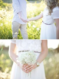 Sweet Engagement shoot by Lauren Albanese