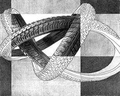 Bicycles in art. pencil bicycle drawing (RISD) | Teaching Art | Pinterest