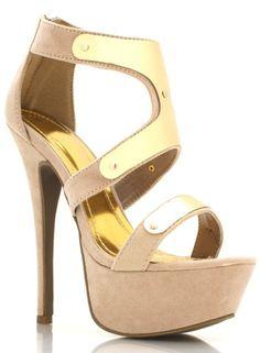 Nett beige high heels
