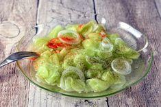Ecetes uborkasaláta 🍴 Pickles, Sprouts, Cucumber, Vegetables, Cooking, Kitchen, Food, Kitchens, Essen