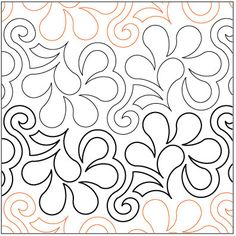 Love This : Frisky Feathers quilting pantograph pattern by Lorien Quilting