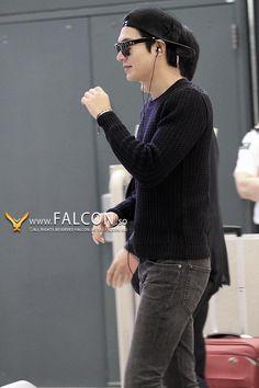 Lee Min Ho - airport fashion 140914