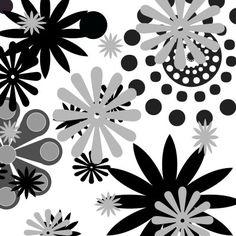 Black and White Patterns I Mixed Media at ArtistRising.com