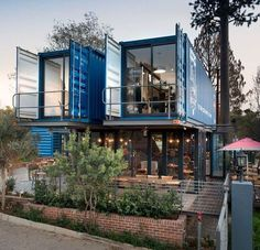 The versatility of shipping containers doesn't only apply to residential projects. In fact, a lot of great examples prove that shipping containers are exce