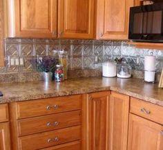 Gorgeous, Inspirational Kitchen Backsplashes [30 Pictures]: Stainless Steel Kitchen Backsplash