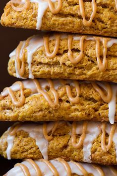Pumpkin Scones Starbucks Copycat - Cooking Classy :: switch out the all-purpose flour for whole wheat, spelt, or freshly milled flour and youve got a scrumptious real food treat! Pumpkin Scones Starbucks, Pumpkin Recipes, Fall Recipes, Holiday Recipes, Just Desserts, Dessert Recipes, Scone Recipes, Copycat Recipes, Pumpkin Spice