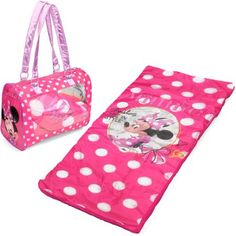 Disney Minnie Mouse Toddler Sleepover Set/Nap Mat with Duffle - Walmart.com