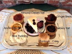 Medieval recipes for dessert Medieval Recipes, Ancient Recipes, Old Recipes, Vintage Recipes, Just Desserts, Dessert Recipes, Dessert Tray, Renaissance Food, Sweets