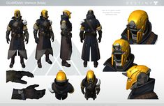 Destiny Warlock Male Character Sheet