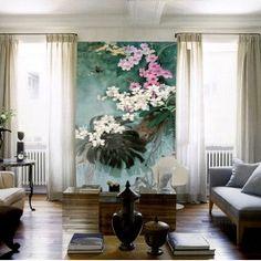 Papier peint asiatique-Les orchidées sauvages
