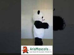 Adult Size Panda mascot costume