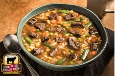 Easy Beef Vegetable Soup recipe provided by the Certified Angus Beef® brand.