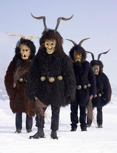 "Still-Practiced Pagan Ritual Costumes:  For 2 years French photographer Charles Fréger has been traveling throughout European countries trying to capture the spirit of what he calls ""Tribal Europe"" in his Wilder Mann series. What he found was a huge array of PAGAN RITUALS, mainly related to the winter solstice and spring renewal, focusing on the common myth of the ""wild man.""  These traditions date back to neolithic times and shamanism and is still practiced today..."