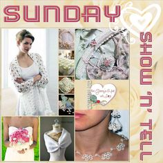 Today was Show n Tell time of Wedding Inspirations. IT'S BEEN BEAUTIFUL! All about the weddings. This week's Show 'n' Tell has been all about weddings. Love