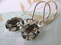 black swarovski crystal lust - etsy