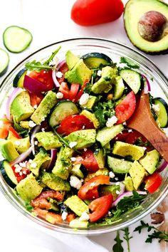 avocadotomatocucumbersalad