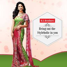 Bring out the ‪#‎glam‬ look & enhance your presence on occasions by draping these colorful ‪#‎PattuSarees‬.Catch some finest range of designer Pattusarees in best offers by shopping @R.S.Brothers
