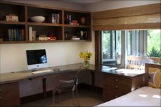 awesome desk wall unit ideas - Google Search