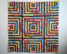 Soul Blossoms Quilt Top by HideawayGirl, via Flickr