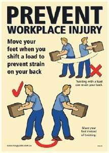 Manual handling safety poster https://www.flicklearning.com/courses/health-and-safety/manual-handling-training