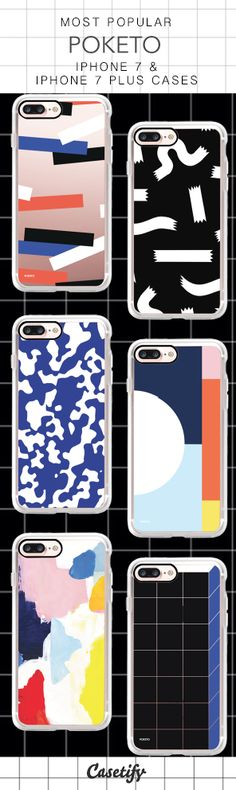Most Popular Poketo iPhone 7 Cases & iPhone 7 Plus Cases here > https://www.casetify.com/collections/poketo#/