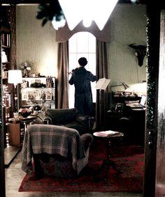 Sherlock is pondering