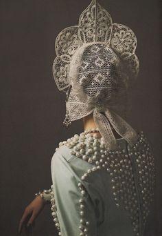 Photo: Mariano Vivanco for Vogue Russia, 2011.