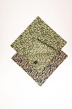 Pomp & Ceremony, set of three pocket squares handkerchief, Liberty of London prints 3 Liberty Of London, Pocket Squares, Prints, Etsy, Pocket Handkerchief, Pocket Square