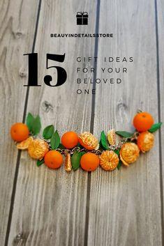 Tangerine jewelry, mandarin bracelet, mandarin earrings, mandarin bracelet, flower jewelry,floral jewelry,floral earrings,floral gift, fruit jewelry,fruit earrings www.etsy.com/shop/BeautyindetailsStore