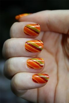 Thanksgiving Nail Art Designs 1