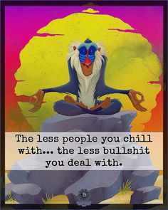 The less people you chill with. the less bullshit you deal with. by Reminder Positive Vibes, Positive Quotes, Bullshit, Consciousness, Motivationalquotes, Self Love, Chill, Life Quotes, Spirituality