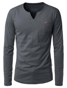 Jamison Longsleeve T-Shirt Formal Shirts For Men, Casual T Shirts, Men Casual, Stylish Mens Outfits, Cool Outfits, Mens Designer Shirts, African Clothing For Men, Collar Shirts, Shirt Sleeves