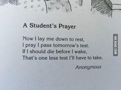 My kid's poem book...