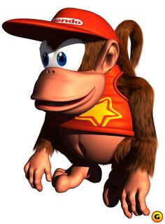 Donkey Kong Country - DIddy