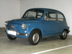 Fiat 600. Fantastic car, prefer it to the 500. quirkyrides.com has 2 of these for sale, including 1 with suicide doors #classic fiat #quirky