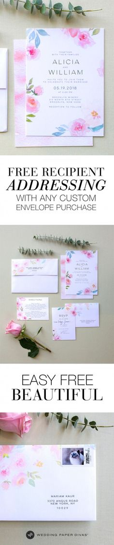 I'm not sure where they got that kitty stamp, but that is awesome! Looks like my kitties! [ad] Save time on handwriting your own addresses. With our free address printing, just find your invites and add Custom Envelopes for easy, beautiful sending.