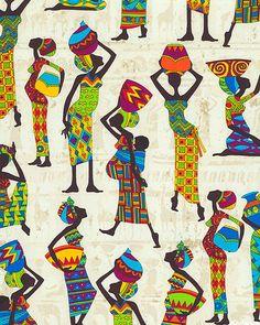 Kenta - Tribal Women - Lt Sand