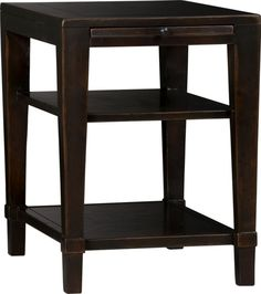 Hudson Side Table in Accent Tables | Crate and Barrel