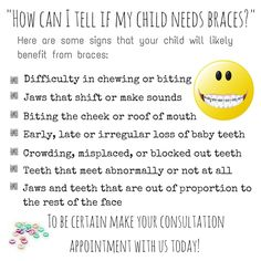 How to Know if Your child needs Braces...