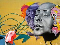 Exhibición de Graffiti Mairena Del Aljarafe. 2º premio en el programa fomento de la creatividad joven.