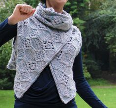 Looking for your next project? You're going to love Irena Wrap by designer Deirdre78. - via @Craftsy