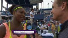 8/19/15 Defending Champion on course --> Rena Into R16! ... Via Live Tennis:    Serena Williams comes through Tsvetana Pironkova 7-5, 6-3 & will face Karin Knapp tomorrow!
